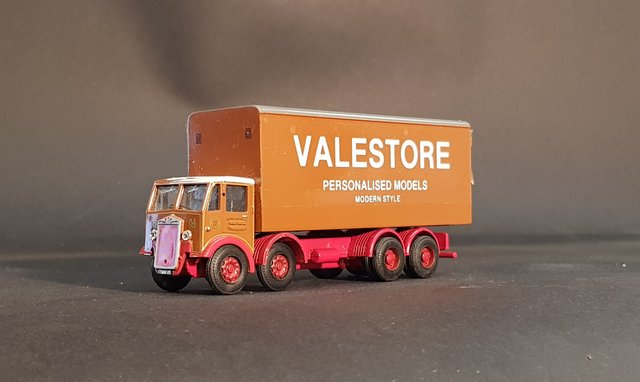 Details about ALBION Diecast Model Truck Lorry Van   Personalised &  Customised with your Name